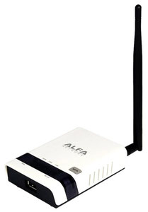 Thumbnail for the ALFA Network AIP-W502U router with 300mbps WiFi,   ETH-ports and                                          0 USB-ports
