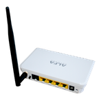 The ALFA Network AIP-W505 router with 300mbps WiFi, 4 100mbps ETH-ports and                                              0 USB-ports
