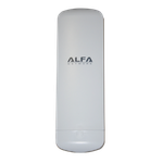 The ALFA Network N2 router with 300mbps WiFi, 2 100mbps ETH-ports and                                                  0 USB-ports