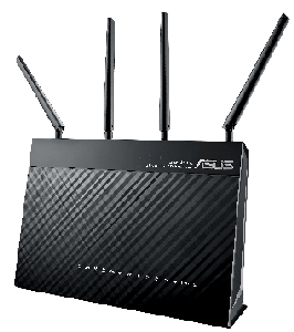Thumbnail for the ASUS DSL-AC87VG router with Gigabit WiFi, 4 Gigabit ETH-ports and                                          0 USB-ports