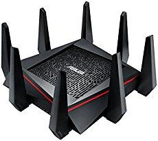 Thumbnail for the ASUS GT-AC9600 router with Gigabit WiFi, 8 Gigabit ETH-ports and                                          0 USB-ports