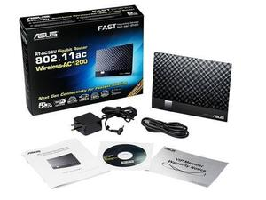 Thumbnail for the ASUS RT-AC56S router with Gigabit WiFi, 4 Gigabit ETH-ports and                                          0 USB-ports