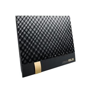 Thumbnail for the ASUS RT-AC85U router with Gigabit WiFi, 4 Gigabit ETH-ports and                                          0 USB-ports
