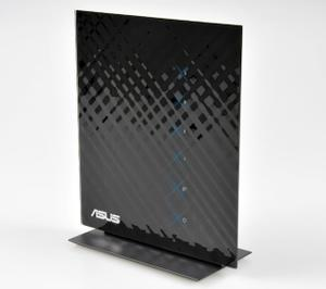 Thumbnail for the ASUS RT-N76U router with 300mbps WiFi, 4 Gigabit ETH-ports and                                          0 USB-ports