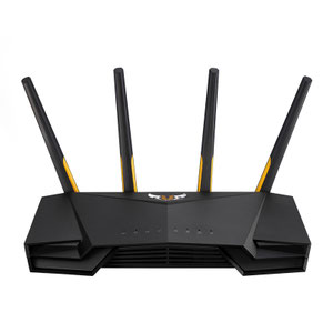 Thumbnail for the ASUS TUF-AX3000 router with Gigabit WiFi, 4 N/A ETH-ports and                                          0 USB-ports