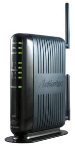 Thumbnail for the Actiontec GT784WN router with 300mbps WiFi, 4 100mbps ETH-ports and                                          0 USB-ports