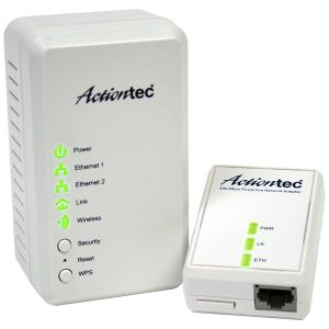 Thumbnail for the Actiontec PWR500 router with No WiFi, 1 100mbps ETH-ports and                                          0 USB-ports