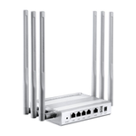 The Afoundry EW750 router with Gigabit WiFi, 4 100mbps ETH-ports and                                                  0 USB-ports