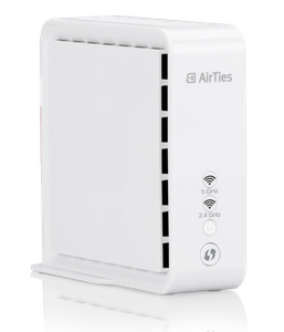 Thumbnail for the AirTies Air 4830 router with Gigabit WiFi, 1 Gigabit ETH-ports and                                          0 USB-ports