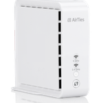 The AirTies Air 4830 router with Gigabit WiFi, 1 Gigabit ETH-ports and                                              0 USB-ports