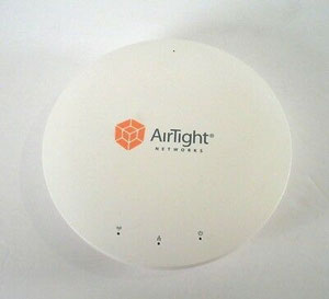 Thumbnail for the AirTight Networks C-55 router with 300mbps WiFi,   ETH-ports and                                          0 USB-ports