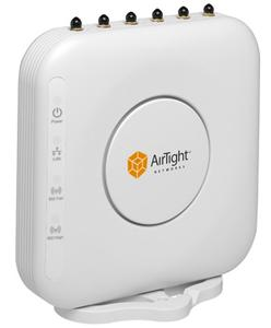 Thumbnail for the AirTight Networks C-75 router with Gigabit WiFi, 2 Gigabit ETH-ports and                                          0 USB-ports