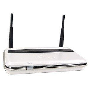 Thumbnail for the Airlink101 AR670W router with 300mbps WiFi, 4 100mbps ETH-ports and                                          0 USB-ports