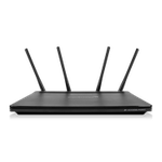 The Amped Wireless APA2600M router with Gigabit WiFi, 4 Gigabit ETH-ports and                                                  0 USB-ports