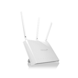 Thumbnail for the Amped Wireless REA20 router with Gigabit WiFi, 5 Gigabit ETH-ports and                                          0 USB-ports