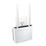 The Amped Wireless REC44M router with Gigabit WiFi, 1 Gigabit ETH-ports and                                                  0 USB-ports
