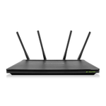 The Amped Wireless RTA2600 router with Gigabit WiFi, 4 Gigabit ETH-ports and                                                  0 USB-ports