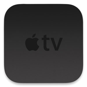Thumbnail for the Apple TV A1378 (2rd generation) router with 300mbps WiFi, 1 100mbps ETH-ports and                                          0 USB-ports