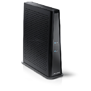 Thumbnail for the Arris DG3450 router with Gigabit WiFi, 4 Gigabit ETH-ports and                                          0 USB-ports