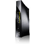 The Arris NVG589 router with 300mbps WiFi, 4 Gigabit ETH-ports and                                              0 USB-ports