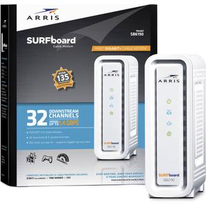 Thumbnail for the Arris SB6190 router with No WiFi, 1 Gigabit ETH-ports and                                          0 USB-ports