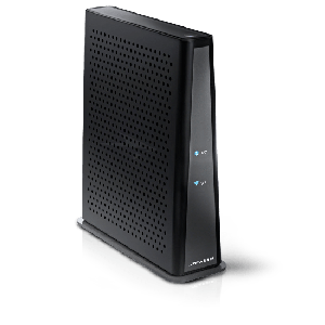 Thumbnail for the Arris TG3442 router with Gigabit WiFi, 4 N/A ETH-ports and                                          0 USB-ports