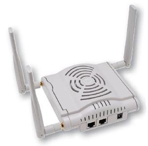 Thumbnail for the Aruba Networks AP-124 router with 300mbps WiFi, 2 Gigabit ETH-ports and                                          0 USB-ports
