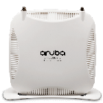 The Aruba Networks RAP-108 router with 300mbps WiFi, 1 Gigabit ETH-ports and                                              0 USB-ports