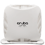 The Aruba Networks RAP-109 router with 300mbps WiFi, 1 Gigabit ETH-ports and                                              0 USB-ports