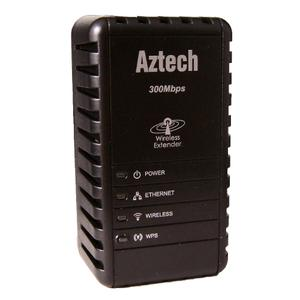 Thumbnail for the Aztech WL556E router with 300mbps WiFi, 1 100mbps ETH-ports and                                          0 USB-ports