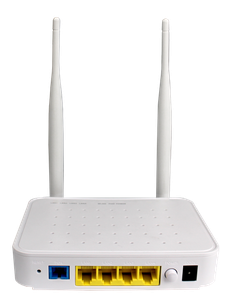 Thumbnail for the BDCOM GP1704-4F-E router with 300mbps WiFi, 4 100mbps ETH-ports and                                          0 USB-ports