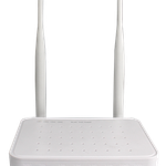 The BDCOM GP1704-4F-E router with 300mbps WiFi, 4 100mbps ETH-ports and                                              0 USB-ports