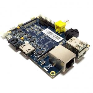 Thumbnail for the Banana Pi BPI Pro router with 300mbps WiFi, 1 Gigabit ETH-ports and                                          0 USB-ports