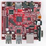 The BeagleBoard.org Beagleboard xM router with No WiFi, 1 100mbps ETH-ports and                                              0 USB-ports