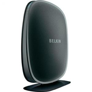 Thumbnail for the Belkin F6D4230-4 v3 router with 300mbps WiFi, 4 100mbps ETH-ports and                                          0 USB-ports