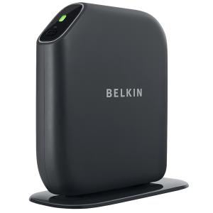 Thumbnail for the Belkin F7D1401 router with 300mbps WiFi, 4 100mbps ETH-ports and                                          0 USB-ports