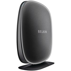 Thumbnail for the Belkin F9K1003 router with 300mbps WiFi, 4 Gigabit ETH-ports and                                          0 USB-ports