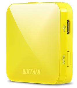 Thumbnail for the Buffalo WMR-433 router with Gigabit WiFi, 1 100mbps ETH-ports and                                          0 USB-ports