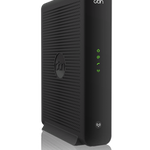 The Compal Broadband Networks CH7465CE router with Gigabit WiFi, 4 Gigabit ETH-ports and                                                  0 USB-ports