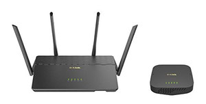 Thumbnail for the D-Link COVR-2600R router with Gigabit WiFi, 4 N/A ETH-ports and                                          0 USB-ports