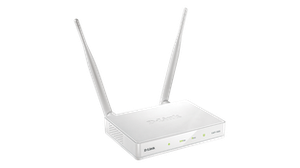 Thumbnail for the D-Link DAP-1655 rev A1 router with Gigabit WiFi, 2 Gigabit ETH-ports and                                          0 USB-ports