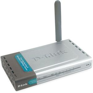 Thumbnail for the D-Link DI-784 router with 54mbps WiFi, 4 100mbps ETH-ports and                                          0 USB-ports