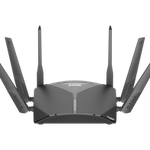 The D-Link DIR-3060 rev A1 router with Gigabit WiFi, 4 Gigabit ETH-ports and                                                  0 USB-ports