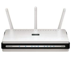 Thumbnail for the D-Link DIR-655 rev C1 router with 300mbps WiFi, 4 Gigabit ETH-ports and                                          0 USB-ports