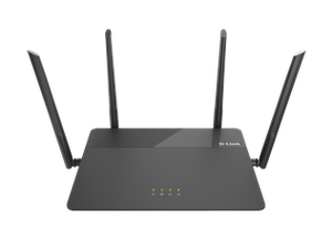 Thumbnail for the D-Link DIR-878 rev A1 router with Gigabit WiFi, 4 Gigabit ETH-ports and                                          0 USB-ports