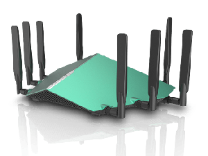 Thumbnail for the D-Link DIR-X6060 router with Gigabit WiFi, 4 Gigabit ETH-ports and                                          0 USB-ports