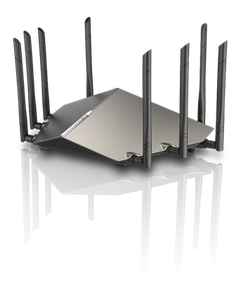 Thumbnail for the D-Link DIR-X9000 router with Gigabit WiFi, 4 N/A ETH-ports and                                          0 USB-ports