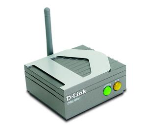 Thumbnail for the D-Link DWL-810 router with 11mbps WiFi, 1 10mbps ETH-ports and                                          0 USB-ports