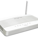 The DrayTek Vigor2620 router with 300mbps WiFi, 1 Gigabit ETH-ports and                                                  0 USB-ports