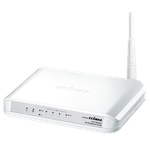 The Edimax 3G-6200n router with 300mbps WiFi, 4 100mbps ETH-ports and                                              0 USB-ports